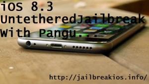 ios 8.3 untethered jailbreak