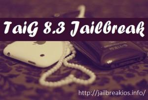 taig 8.3 jailbreak