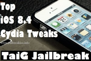 ios 8.4 jailbreak tweaks