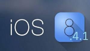 iOS 8.4.1 avilable