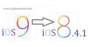 downgrade ios 9