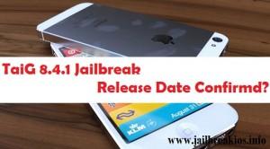 jailbreak ios 8.4.1 taig