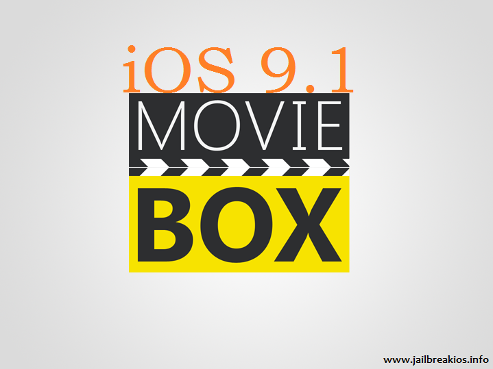 Moviebox iOS 9.1
