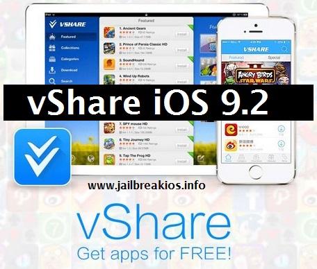 vShare ios 9.2