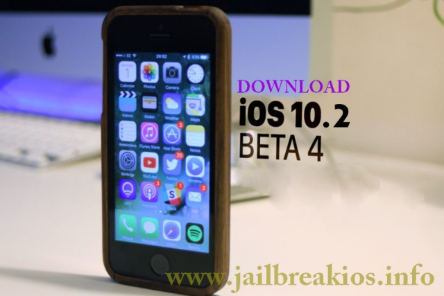 iOS 10.2 Beta 4 download and install